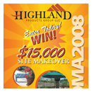 highland products group sweepstakes poster image thumbnail.